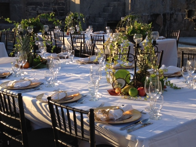 Celebrity Chef! - We arranged for Robert Irvine of restaurant fame to come to Bermuda, create a menu and host this evening at a historic fort to great applause from guests….