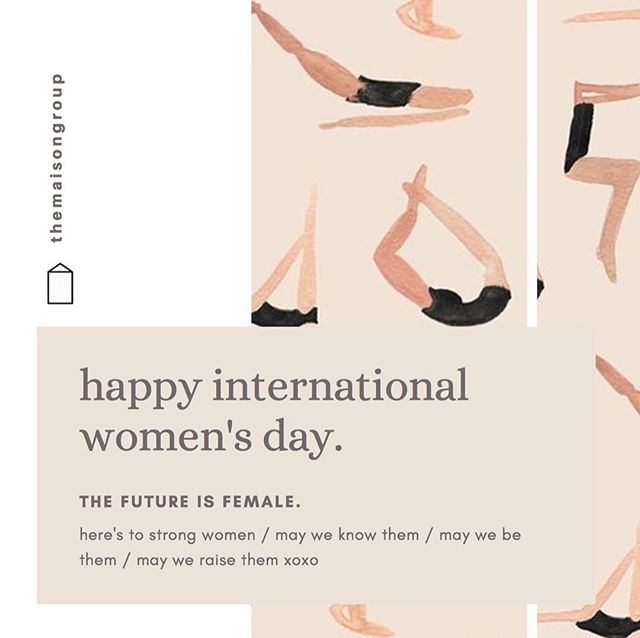 happy international women's day to all of the beautiful women of the world🌸 // from 2 young women embarking on their own real estate journey, heres to improving the gender balance of the industry as a whole - #internationalwomensday #thefutureisfemale #westandwithwomen #themaisongroup #realestate #womeninrealestate #itsawomansworld #torontorealestate