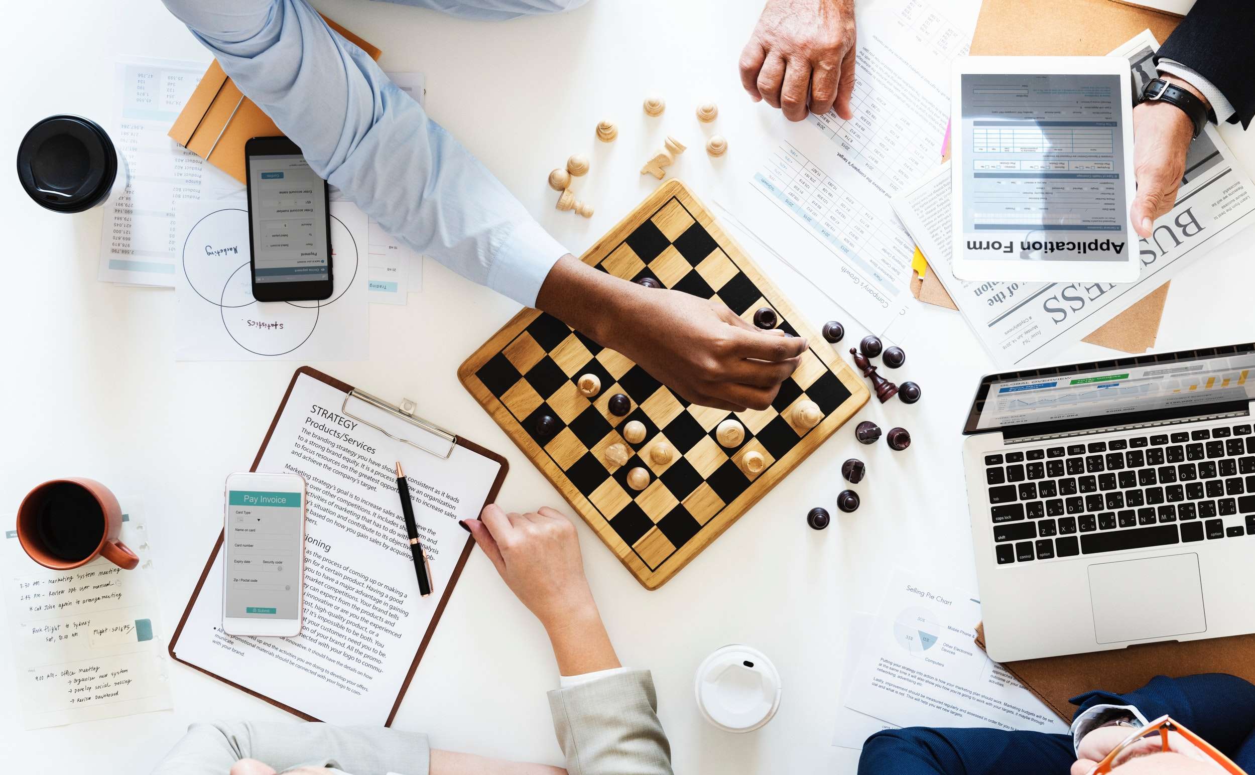Let's talk and strategize your next move! -