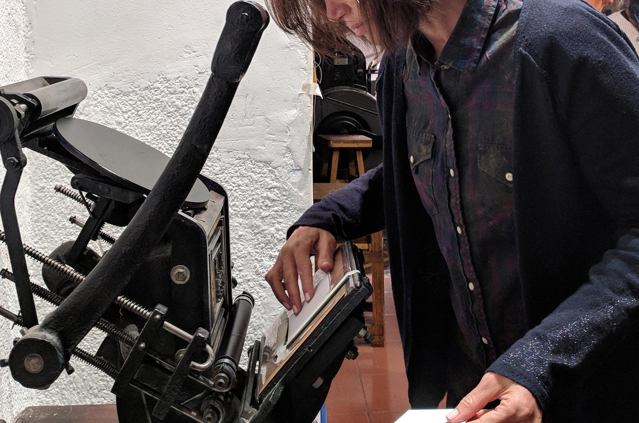LETTERPRESScomposición + impresión tipográfica -