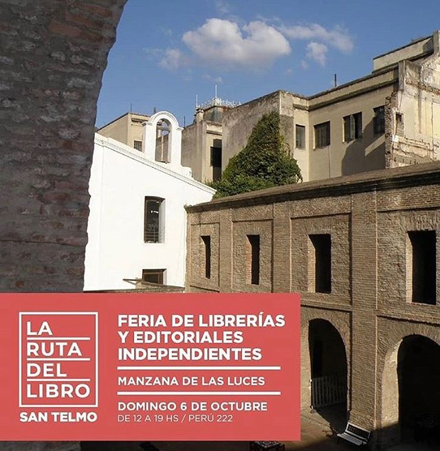 ⚡️Mañana! Festejamos el cierre de la semana de @larutadellibro con una gran feria en @manzanadelasluces_oficial ¡Nos vemos!🤗