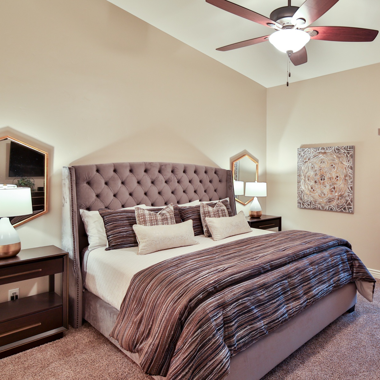 bedding selection -