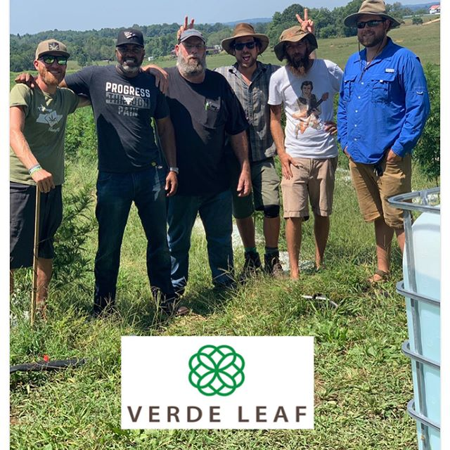 Busy day with @caveriverfarm_hemp and @oleappalachianhemp talking business with Verde Leaf. All in the middle of @tnagriculture coming out and testing three fields! Almost there.... ✂️ #industrialhemp #outdoorcannabis #tnhempcrew