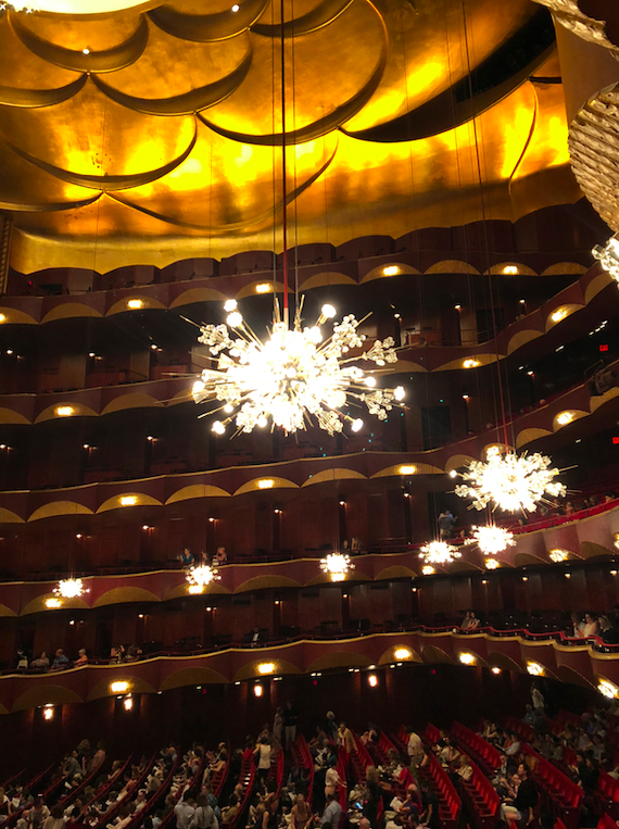 Chandeliers at Lincoln Center