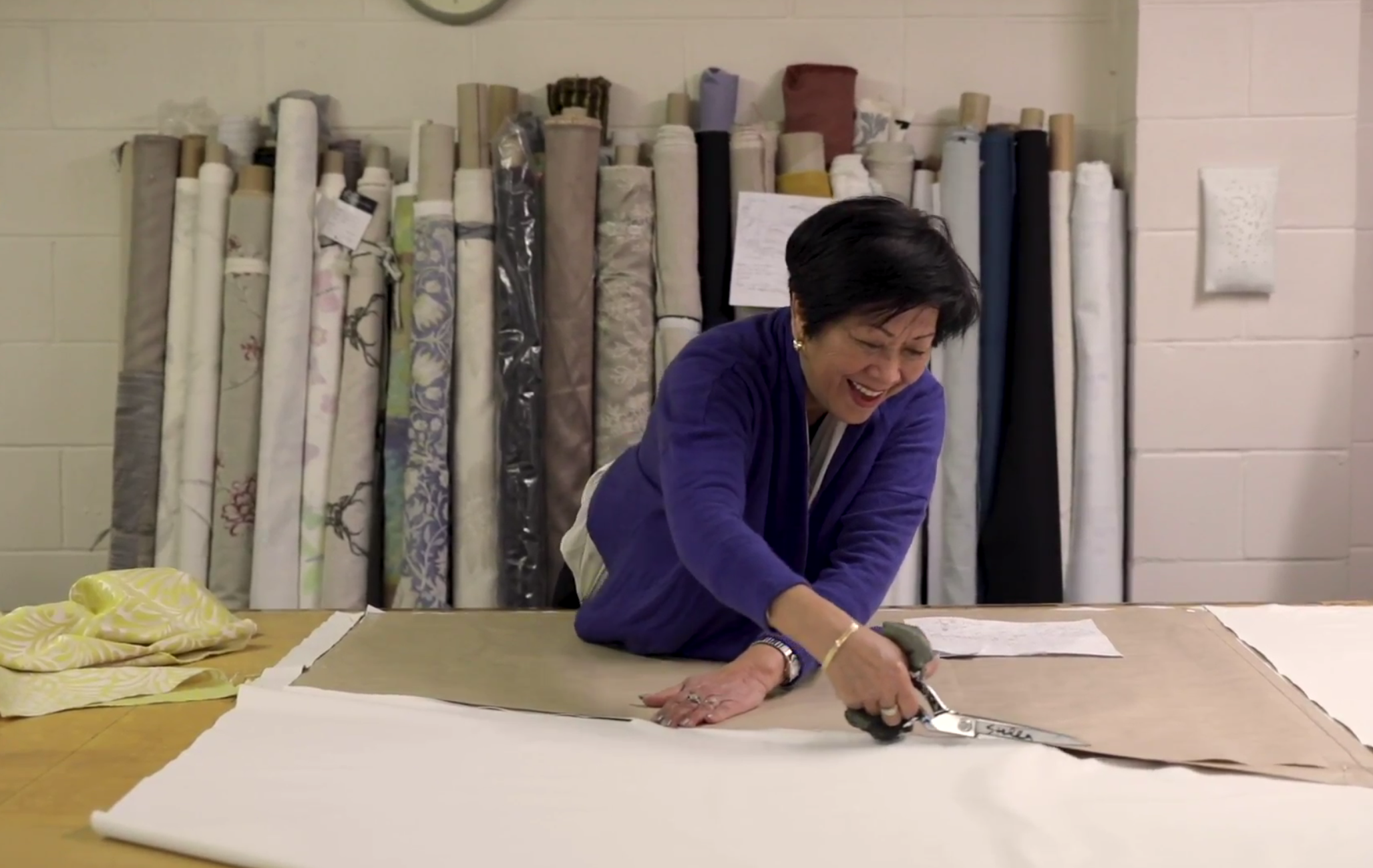 We manufacture our curtains inhouse, or in carefully selected workrooms