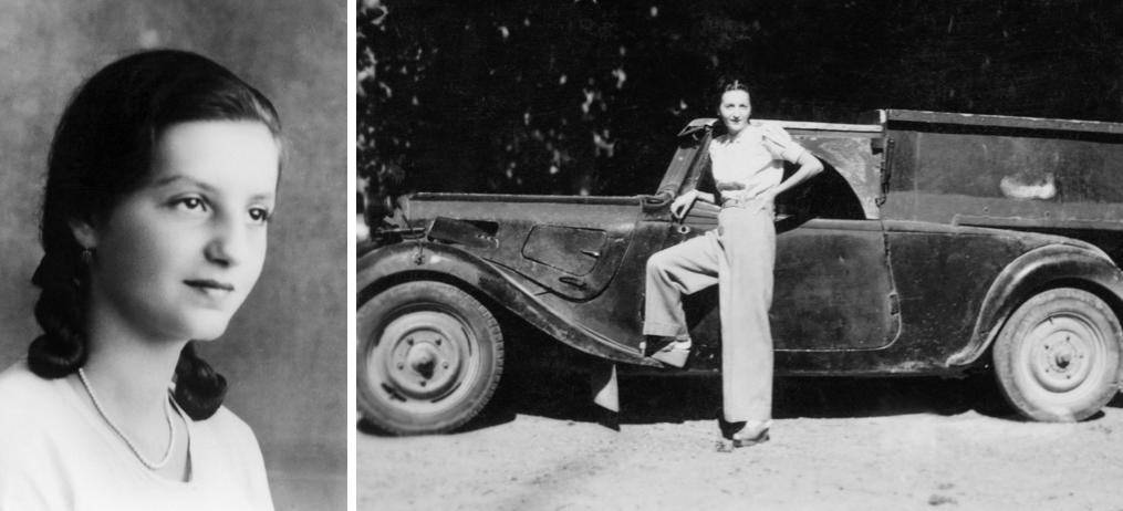 Elisabeth Sigmund about 1927 and 1945.png