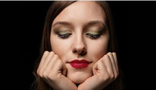 Colourful Care - Bright, colourful and confident. A step-by-step guide for a look that lets eyes and lips shine with radiant care.