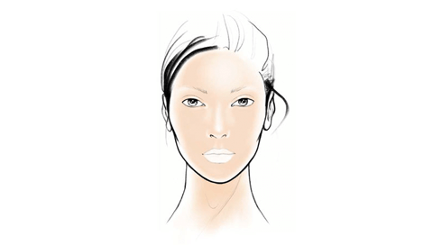 Apply Base - Foundation, Concealer and Powder. Use the Eye and Brow Palette to accentuate the eyebrows.