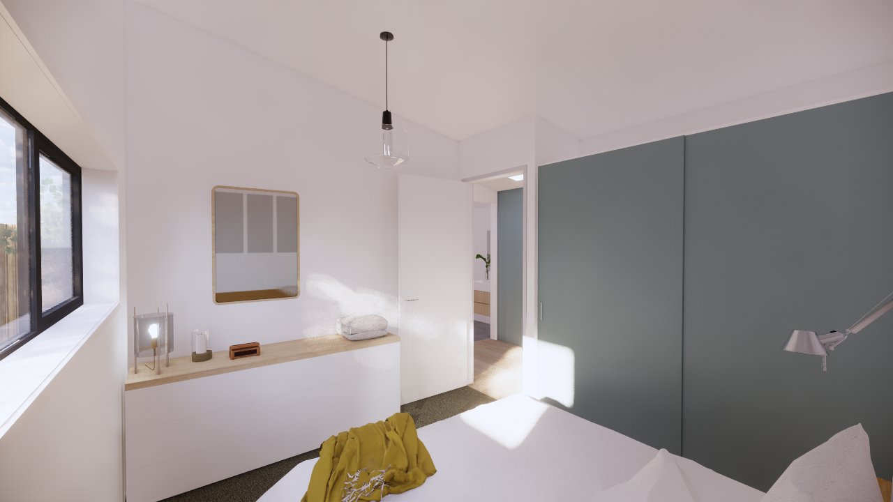 Click for 3D of Bedrooms -