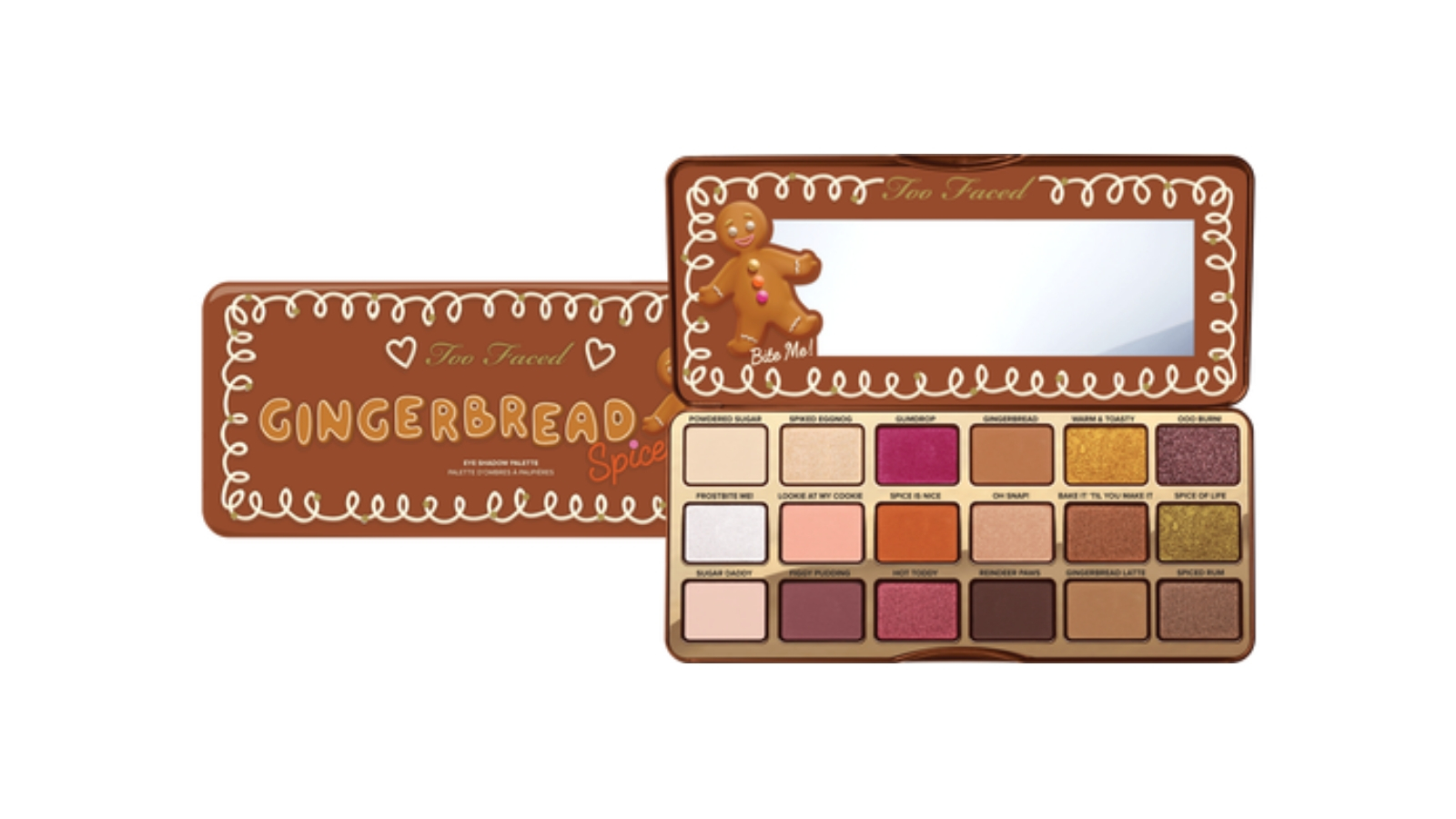 Too Faced Gingerbread Spice Palette $71