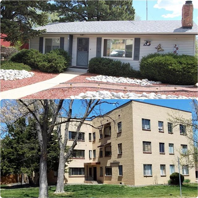 What 200k will get you in downtown Colorado Springs VS Downtown Denver. We have seen a HUGE increase in millennials moving down to the Springs & commuting OR moving here & having a career change! Quality of life is 10/10!!! 1,872square ft house, 3bed/2bath, no hoa VS 577 square ft, 1 bed/1 bath, monthly hoa of $240. #coloradosprings #coloradospringsliving #coloradoliving #coloradospringslife #coloradosprings #coloradospringsco #csco  #coloradolifestyle #downtowncoloradosprings #my_cosprings #coloradospringsrealestate #coloradorealestate