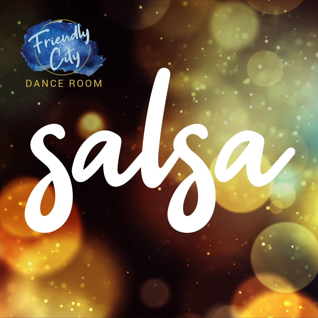 Salsa is a Latin social dance from Cuba with energetic body styling and flair. Salsa music is a mix of French and African rhythms, bringing horns and drums together to create this upbeat music. -