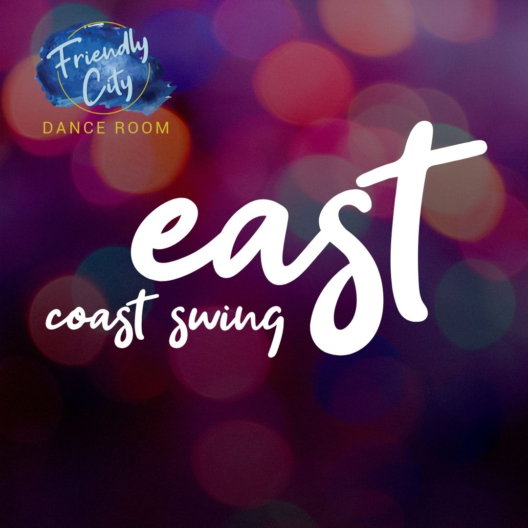 East Coast Swing is an American social dance with a carefree attitude and varied footwork. This dance is often done to big band music, but newer music styles often pair well with its fast movements. -