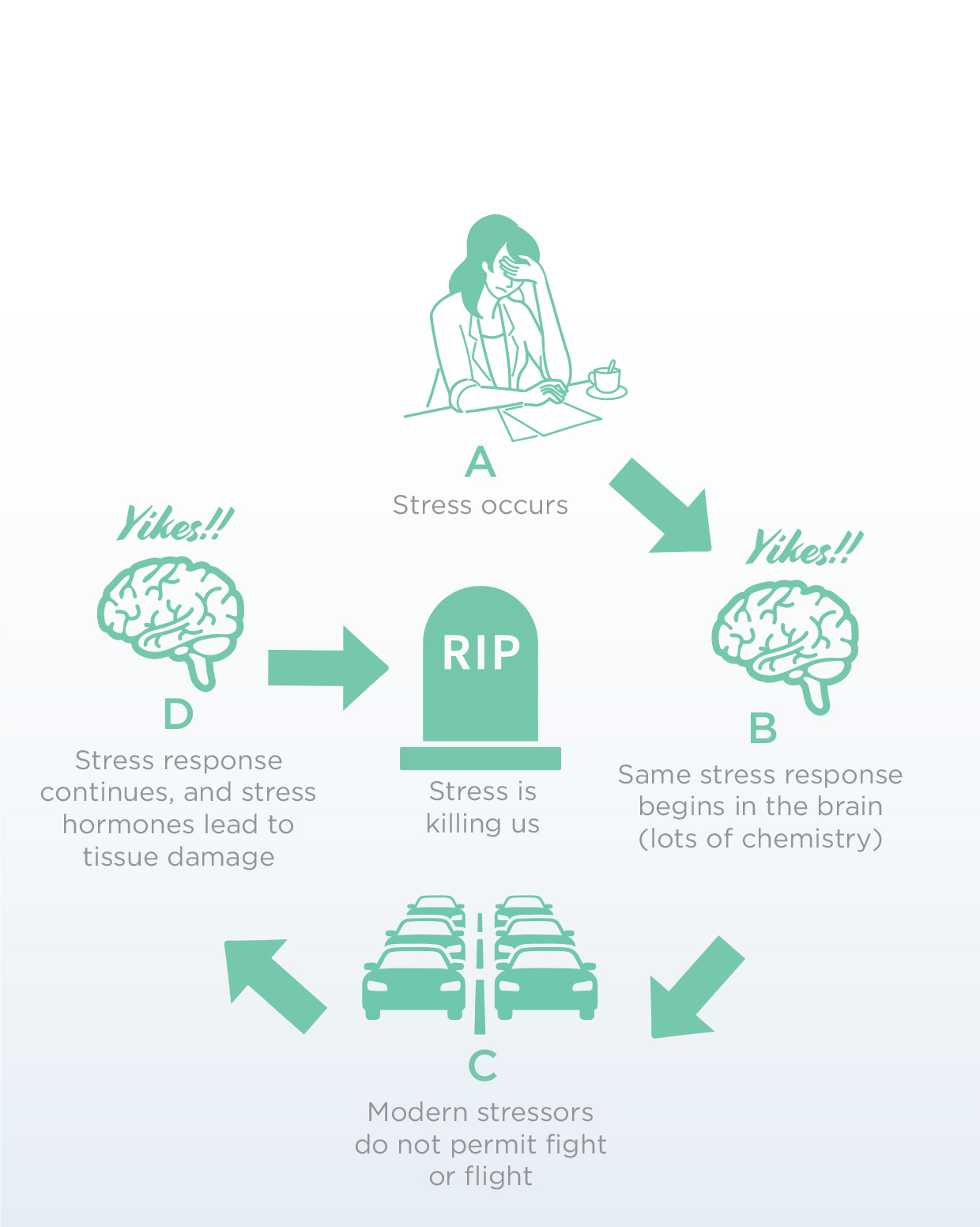 Figure 2: Chronic (Long-term) Stress