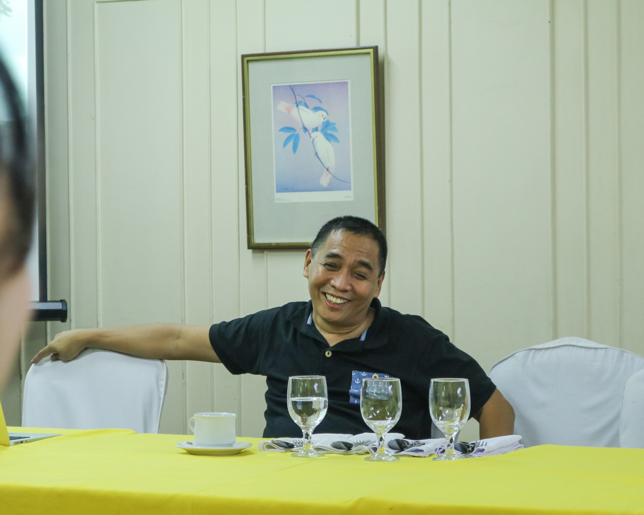 Atty. Ping Peria during the Infomunch
