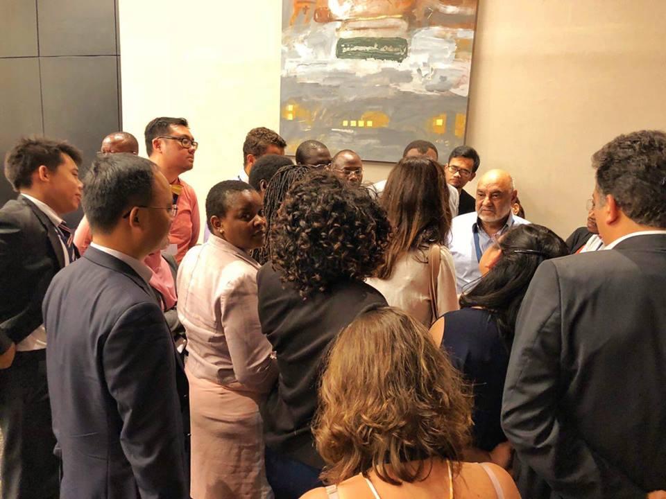 """A """"huddle"""" at COP14"""