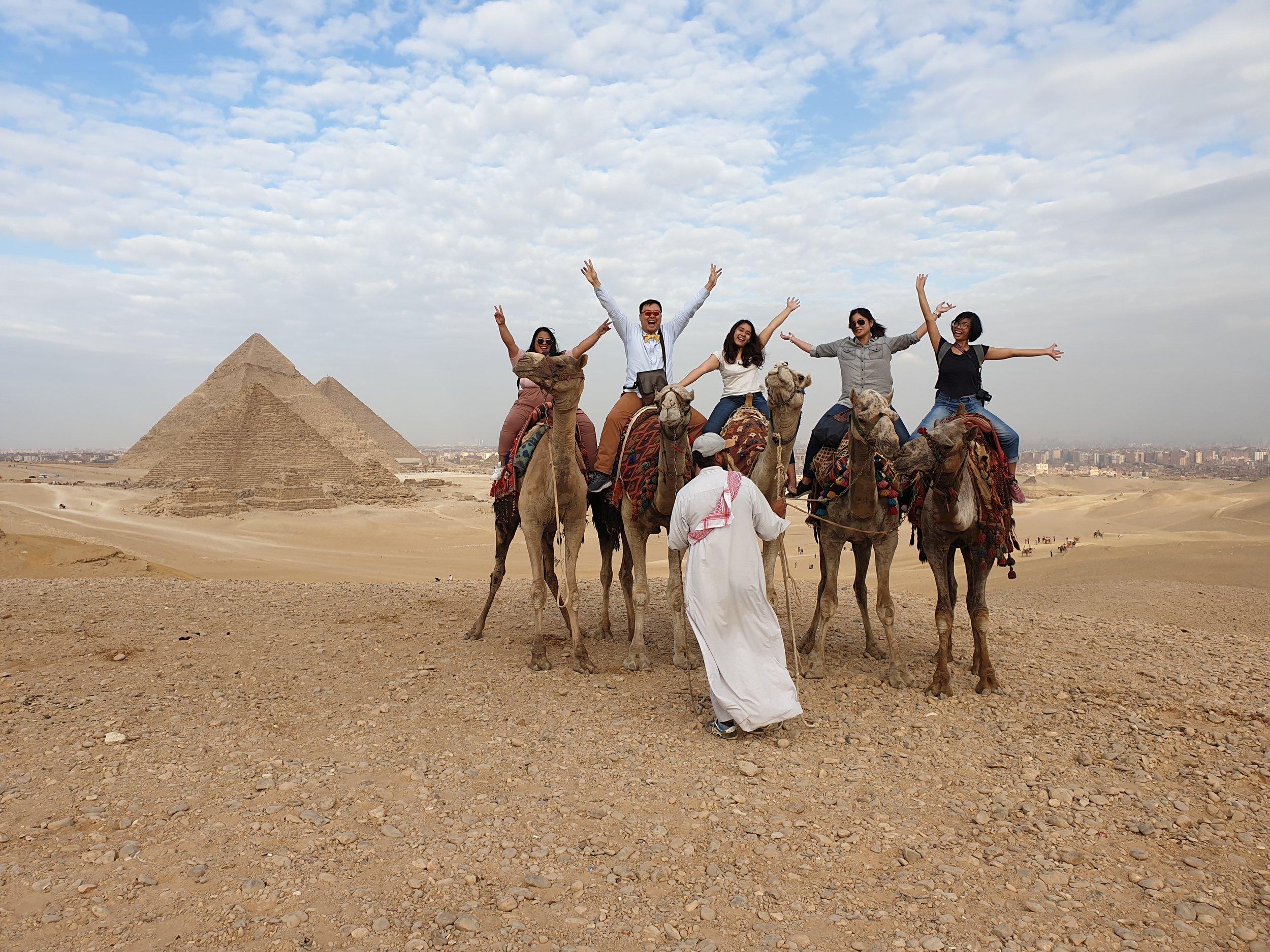 The Parabukas team in Egypt