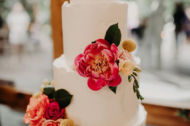 Peonies are some of my faaavorite flowers! I want them in every corner of my home! This one added so much beauty to this cake. I was so excited about it! 🌺 Photo: @amberdawnpics . . . #cake #cakedetails #flowers #floralcakes #texture #buttercream  #tieredcake #cakedesign #newbraunfels #texaswedding  #champagnecake  #roughedges #stylemepretty #greenweddingshoes  #theknot #atx