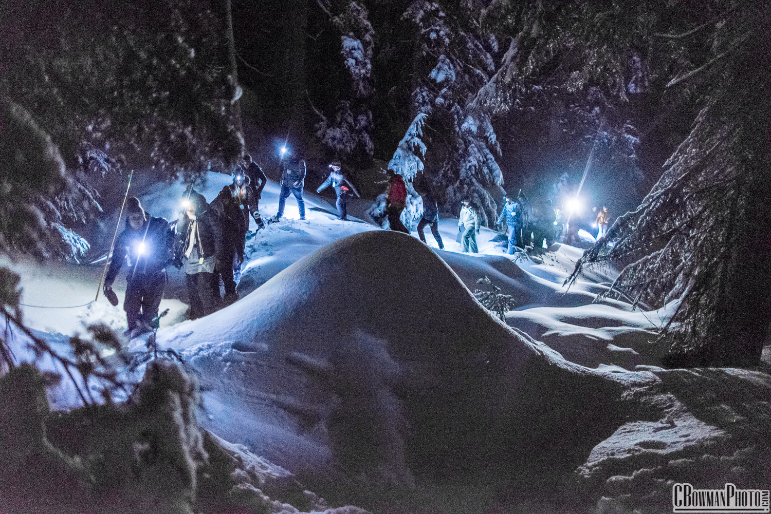 Moonlight Snowshoe 2018 - Highlights from the 12th Annual Moonlight Snowshoe