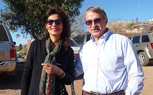 FESAC & BCA directors: Alma Cota de Yanez and Jerry Haas