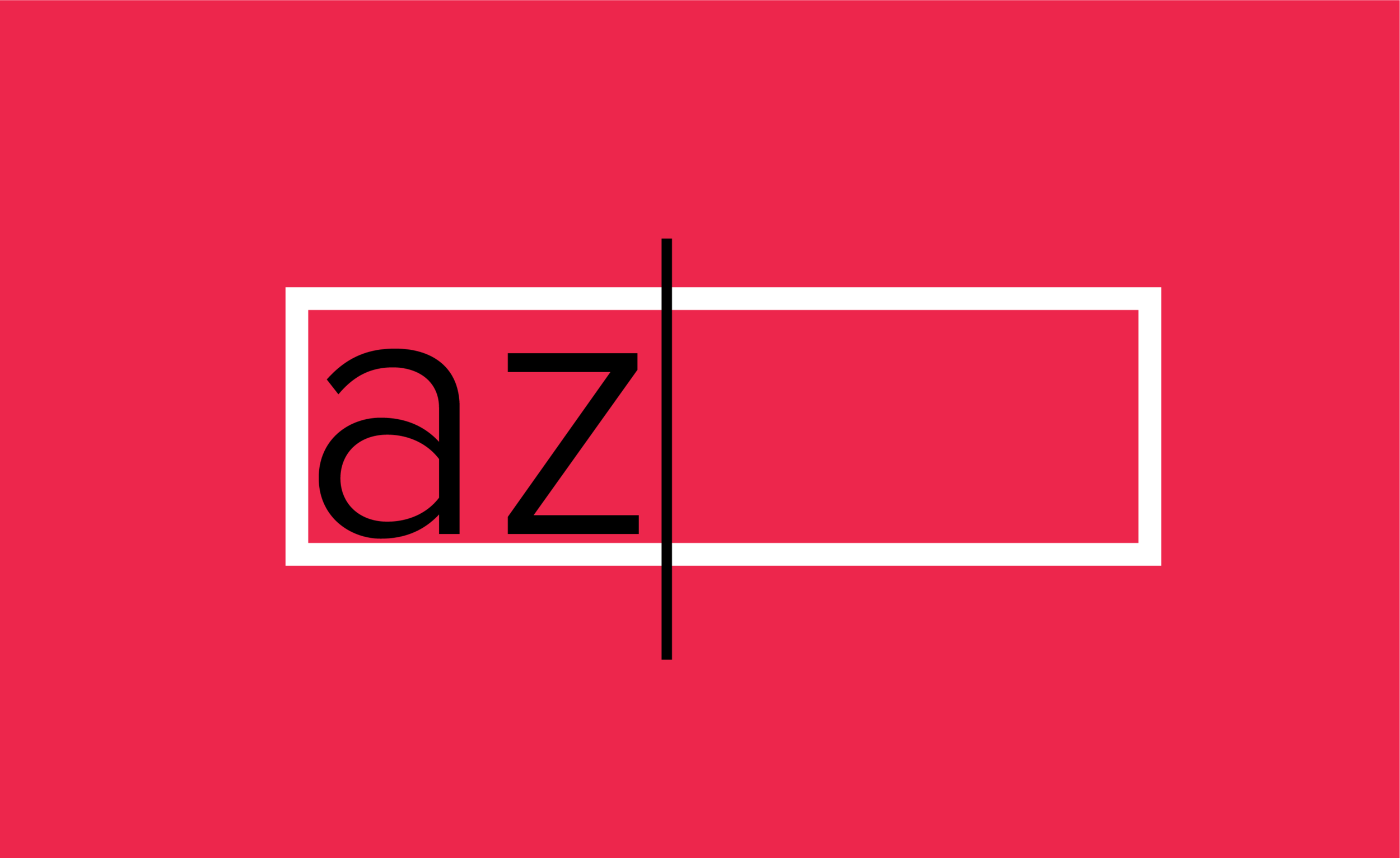 """Redesigned AZ Lyrics logo—resembles the letters """"az"""" being typed into a search bar to cater to AZ Lyrics's theme of searching."""