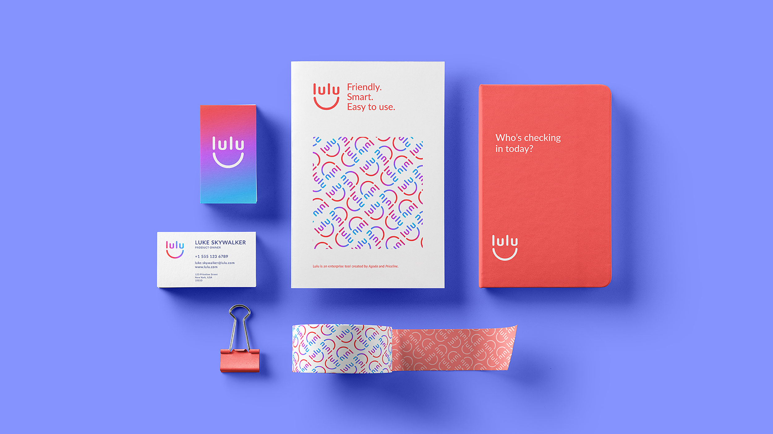 Collateral for Lulu, an internal enterprise tool for Agoda's supply partners.