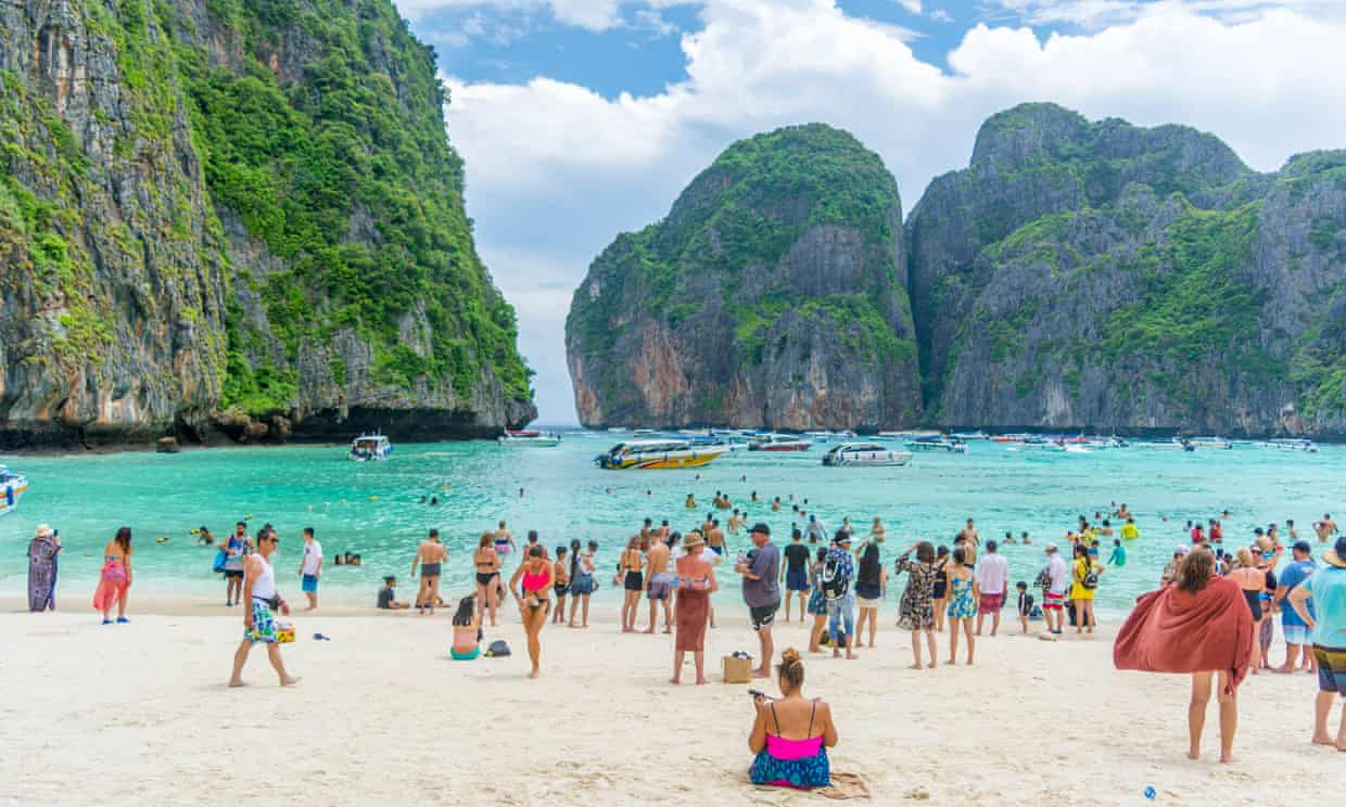 Thailand bay made famous by The Beach closed indefinitely  The Guardian - 03 October, 2018