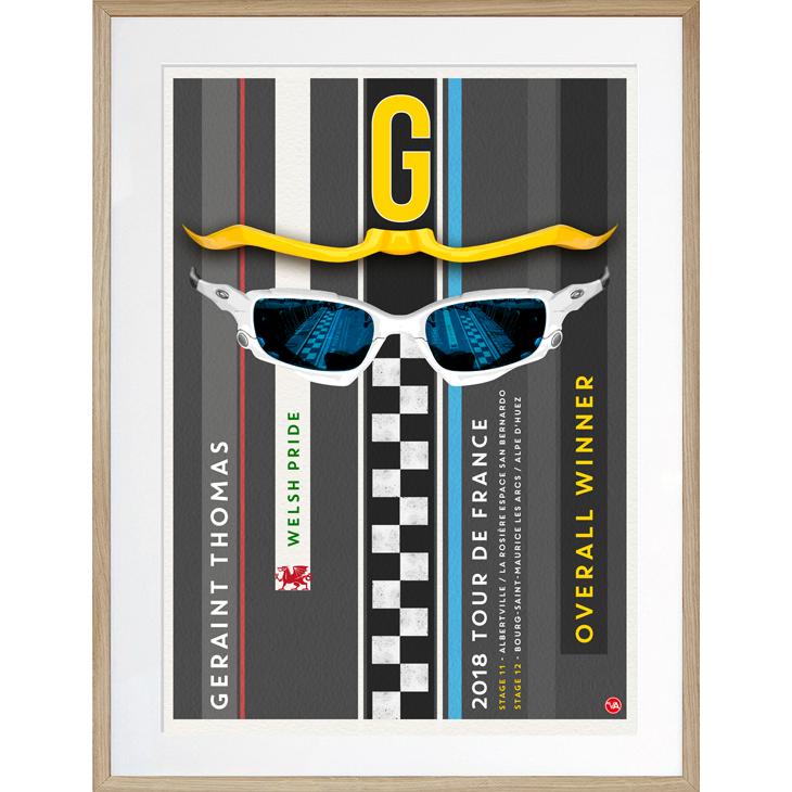 'G' - Geraint Thomas, 2018 Tour de France Winner