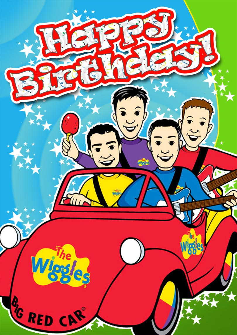 The Wiggles Birthday Card Free Printable Cards Printbirthday Cards