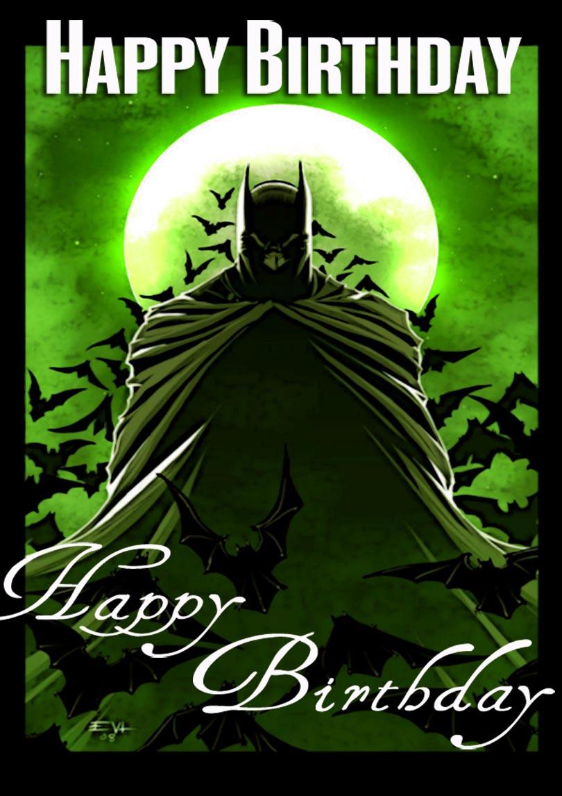 Super Heroes Free Printable Birthday Cards Printbirthday