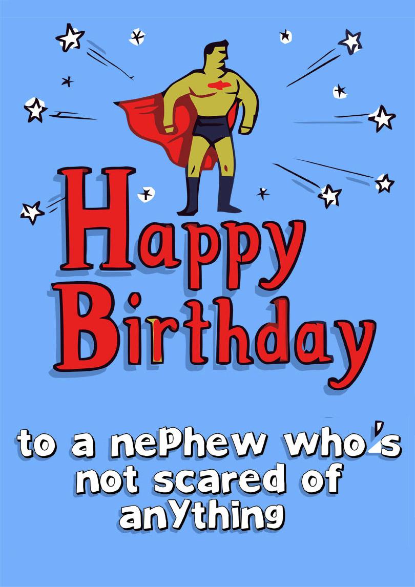Nephew Birthday Card | Free printable