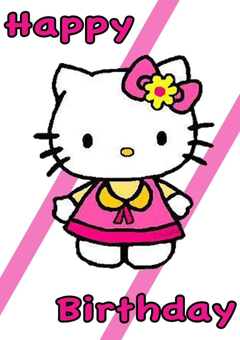 Hello Kitty Printable Birthday Cards — PRINTBIRTHDAY.CARDS