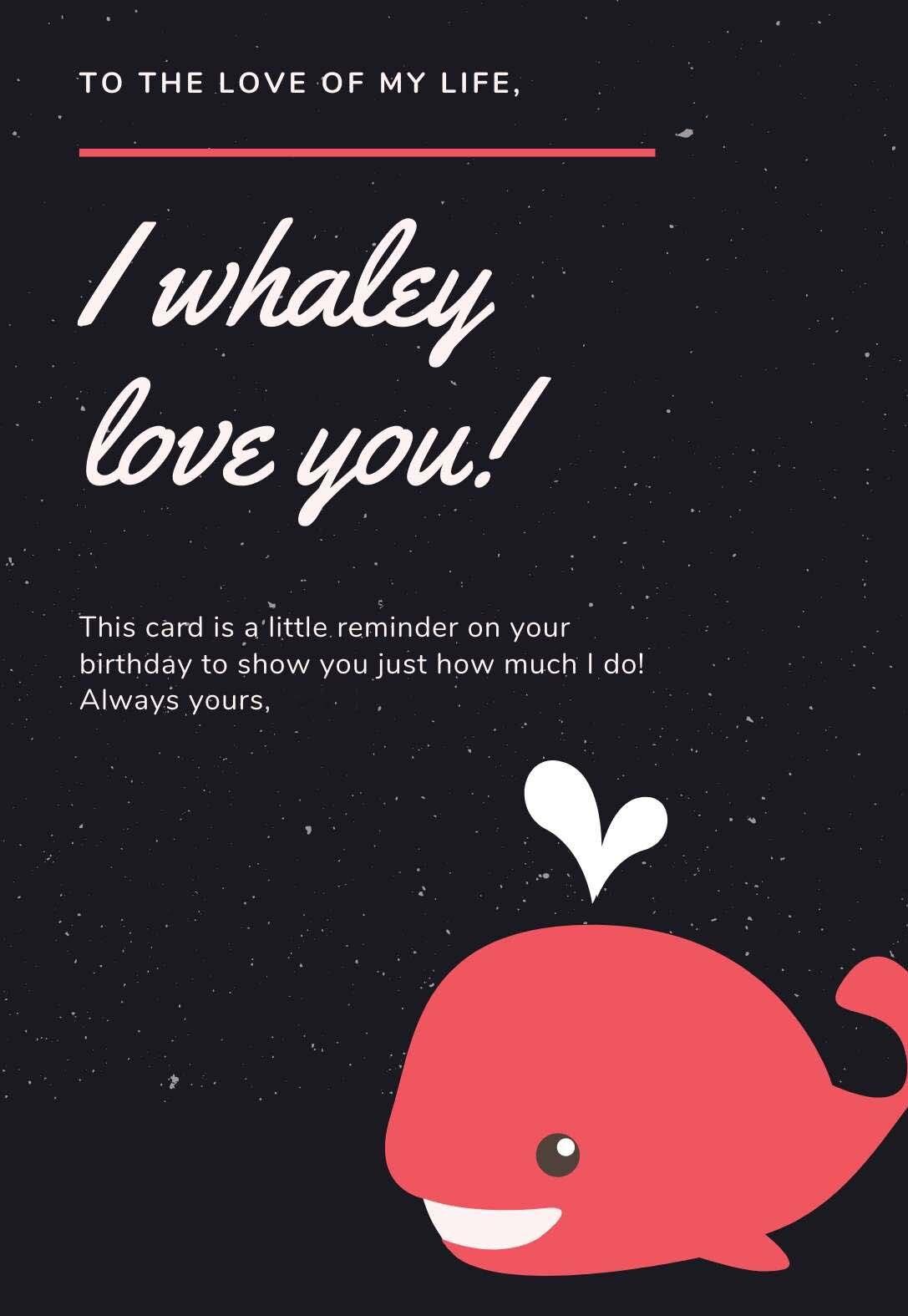 Funny Romantic Printable Birthday Card Printbirthday Cards