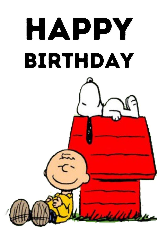 Snoopy Printable Birthday Cards Printbirthday Cards