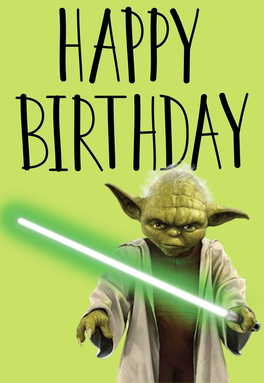 the best star wars printable birthday cards free