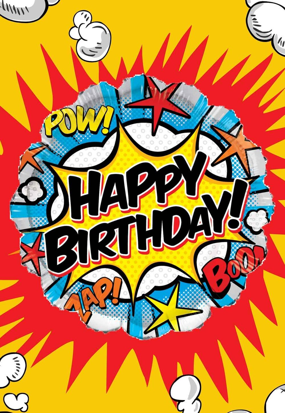 Free Printable Superhero Birthday Cards - Many Categories Intended For Superman Birthday Card Template