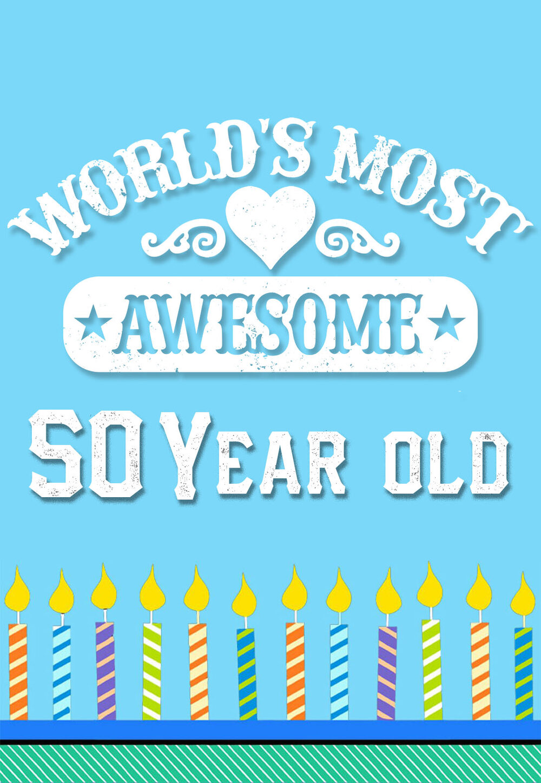 Printable 50th Birthday Cards Free Printbirthday Cards