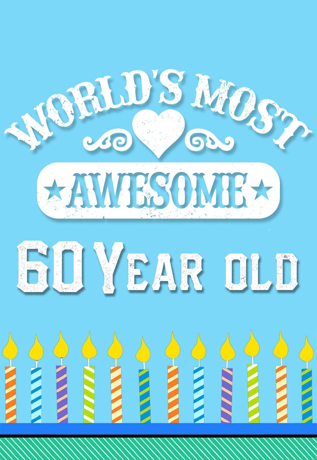60th Birthday Cards — PRINTBIRTHDAY.CARDS