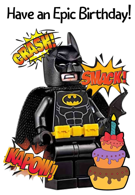 Batman Printable Birthday Cards Printbirthday Cards
