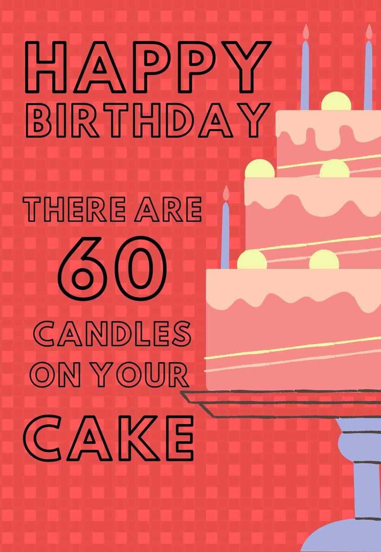26 Fabulous 60th Birthday Cards Free Printable Printbirthday Cards