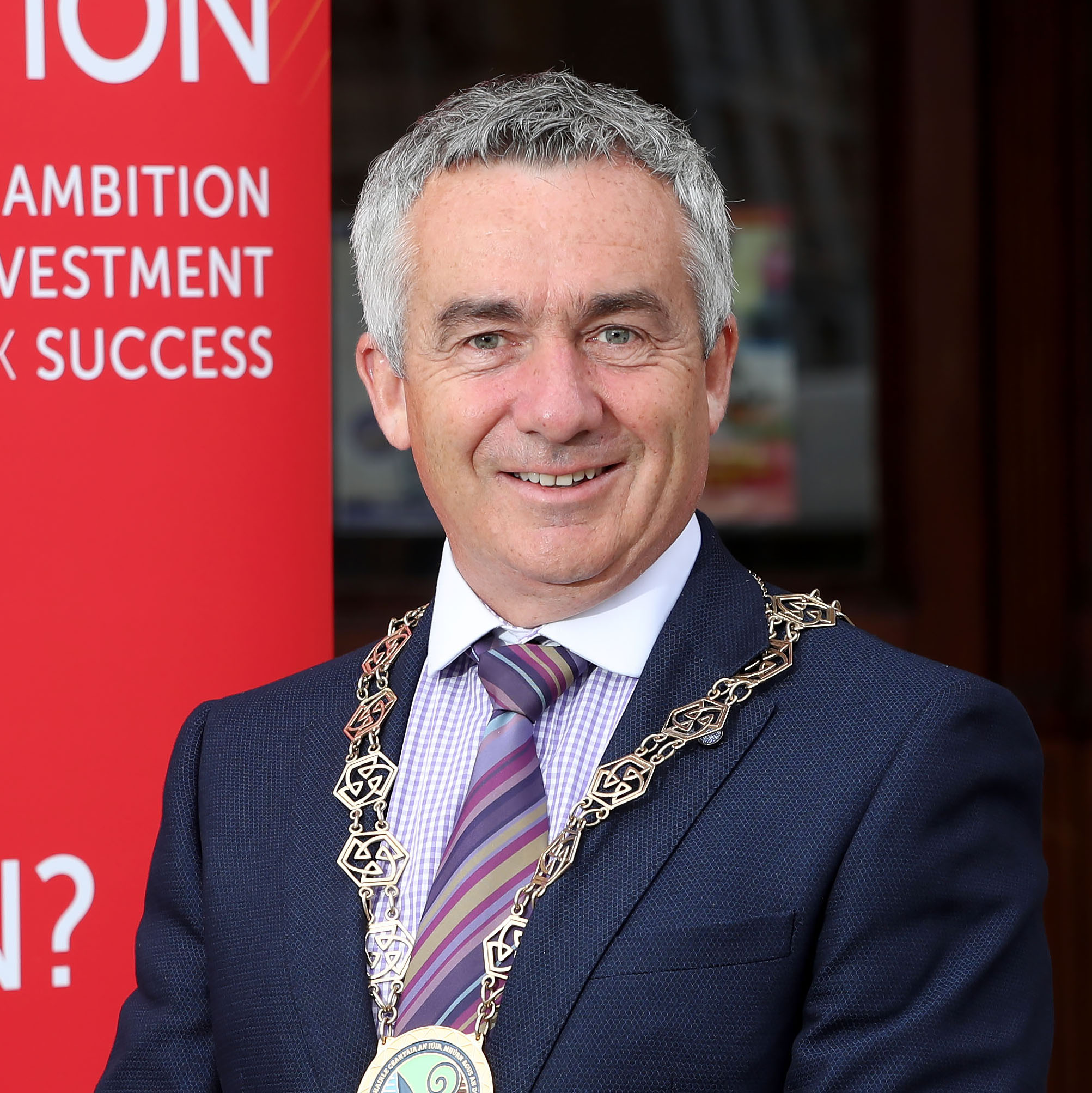 Councillor Mark Murnin   Newry, Mourne and Down District Council: Chairperson