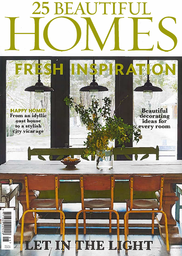 25 Beautiful Homes - May 2019  Five page feature on one of our Chelsea projects.