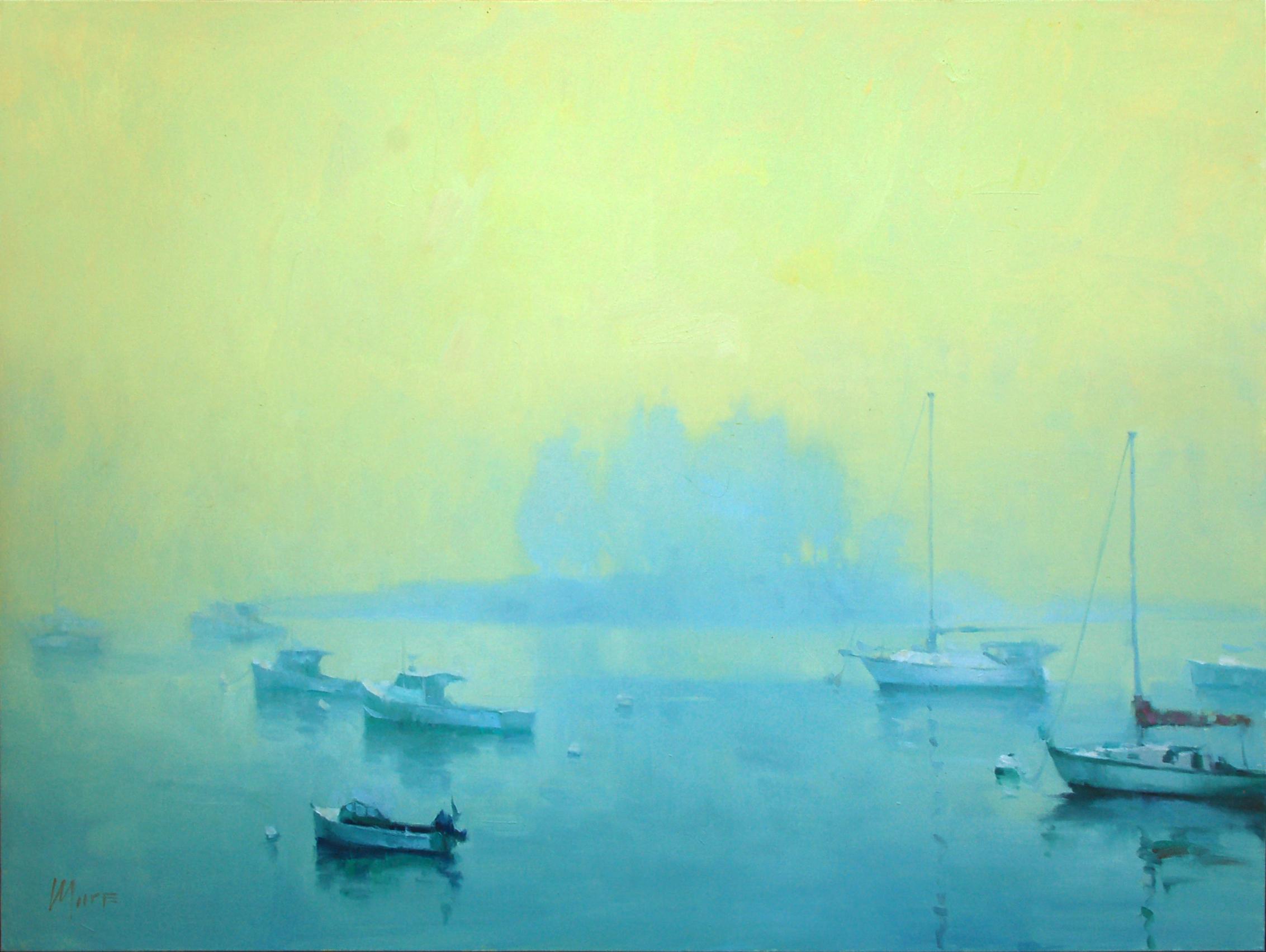 Booth bay dawn