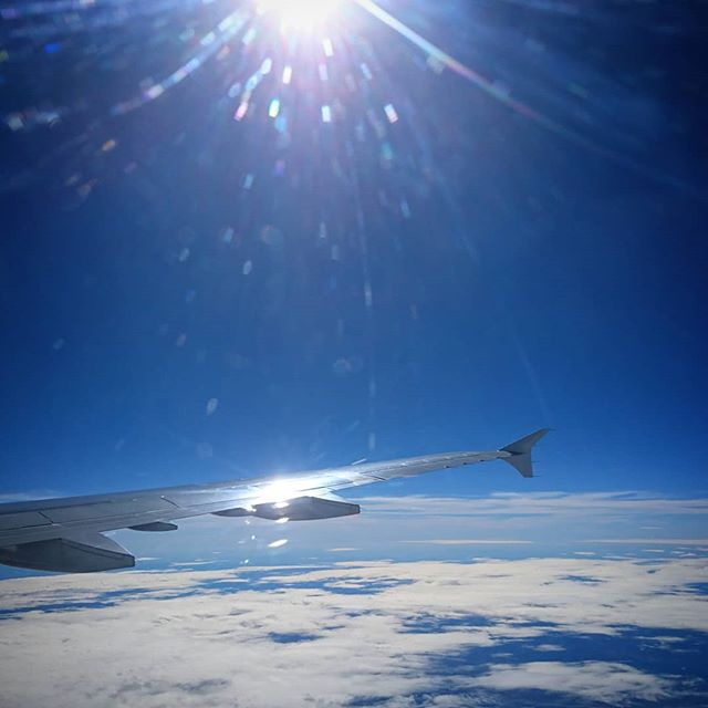 Travelling to this week's office... @artinprovence . . . #airfrance #Provence #airbus #flare #ig_color #ig_shotz #remotework #nomad #digitalnomad #wing #sun #flight #flying #bluesky #art #workshop #workfromhome #homeiswhereyouparkit #travelandlife #travelandwork