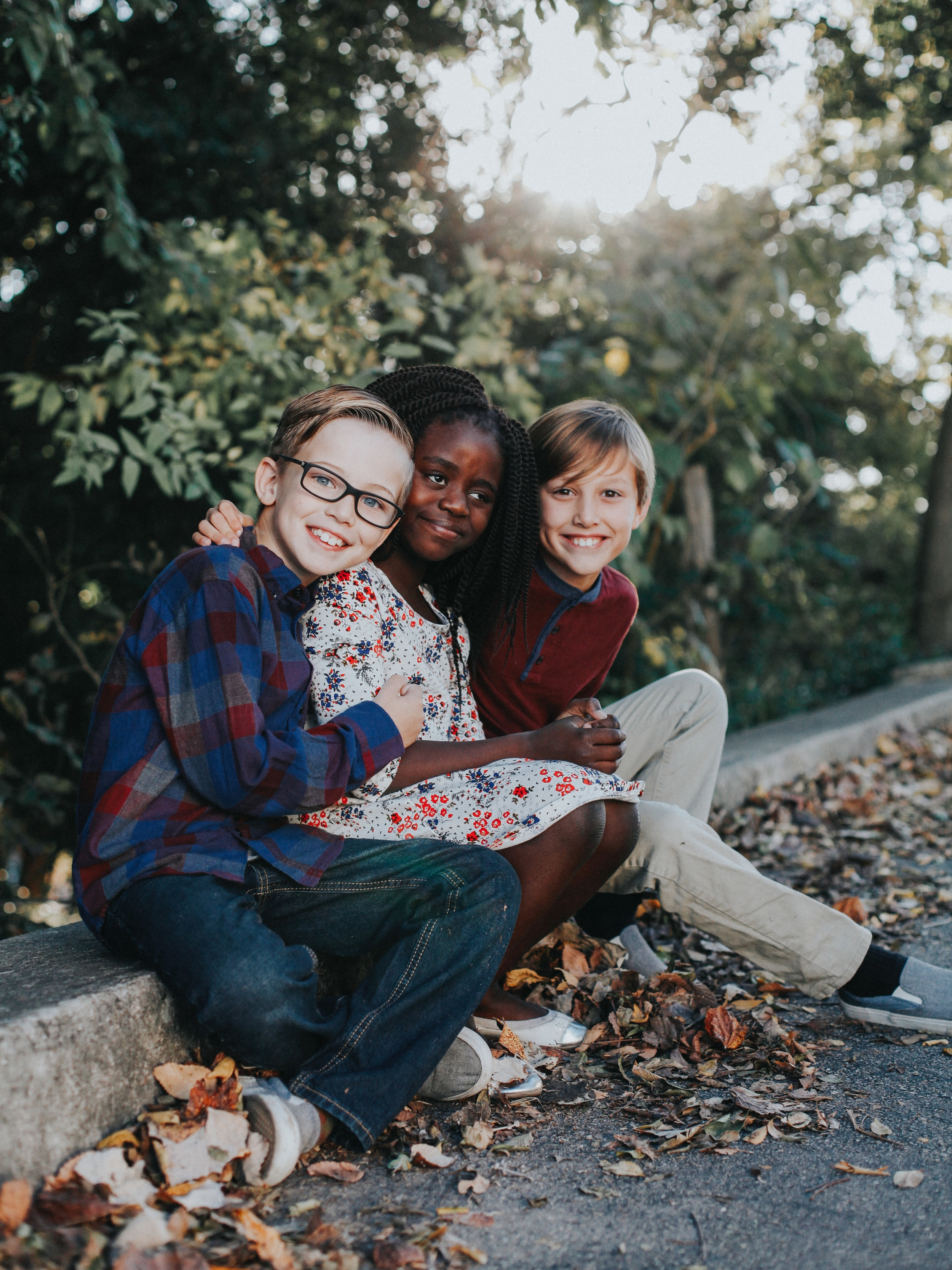 Our three amigos - These three kids - Zeke, Titus, and Zoe - are the light of my life. The older they get the cooler they become. I love their humor, their joys, and even their dislikes because thats what makes them THEM.We get asked a lot how the boys