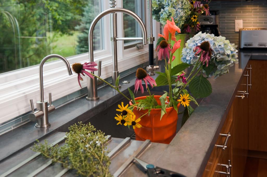 concrete countertops - eco-friendly