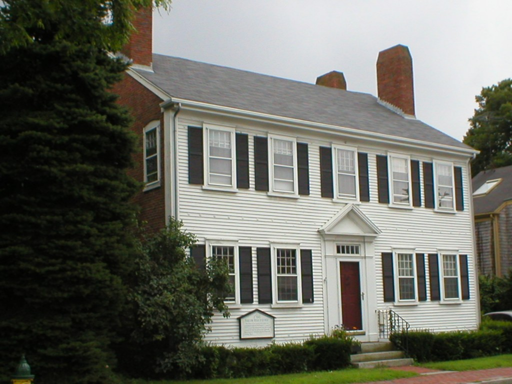 new england architecture styles