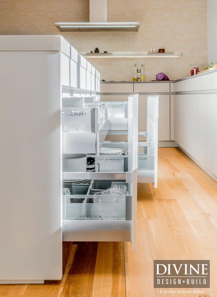 Organized kitchen drawers leicht