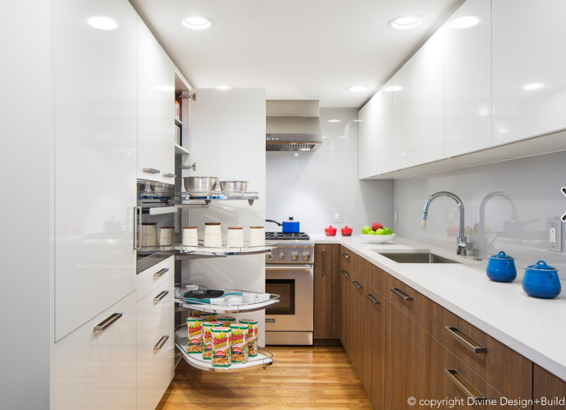 Best Kitchen Cabinets For Small Spaces, Narrow Kitchen Cabinets For Small Spaces