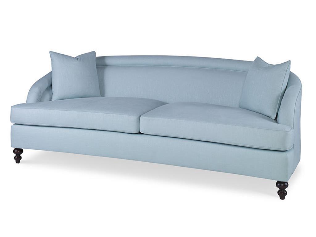 Kate spade sofa - coastal new england interior design